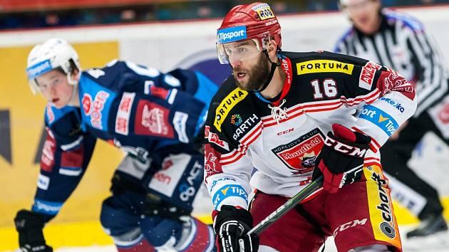 Hokejová extraliga: Mountfield HK - Piráti Chomutov.