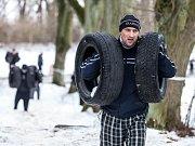 Winter Gladiator Race.