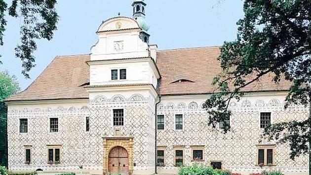 Zámek Doudleby nad Orlicí. Ilustrační fotografie.