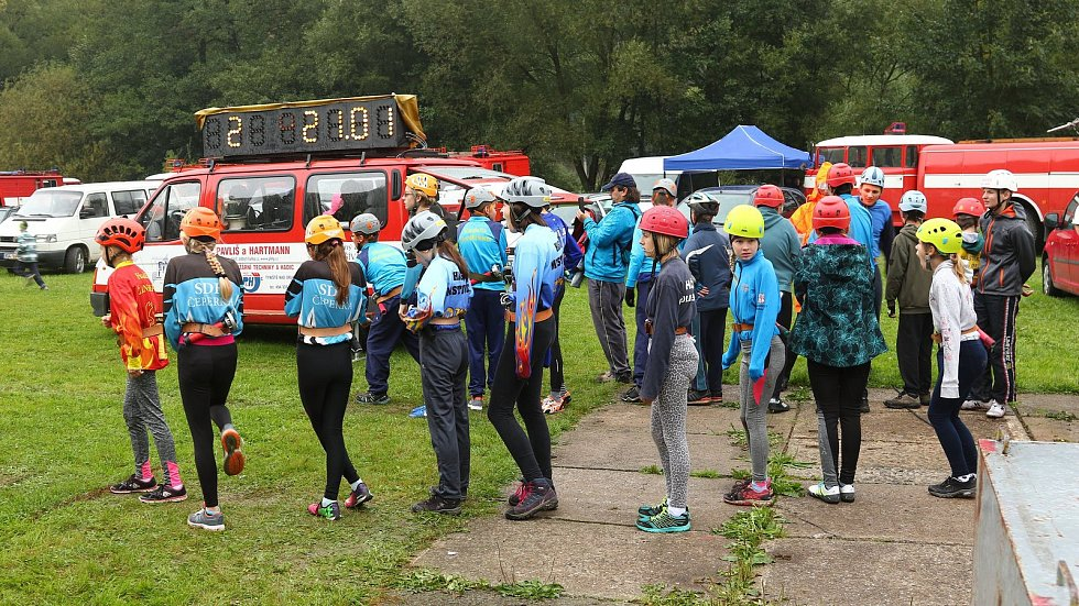 Závody v požárnické všestrannosti mladých hasičů - Memoriál Zdeňka Veselého 2017.