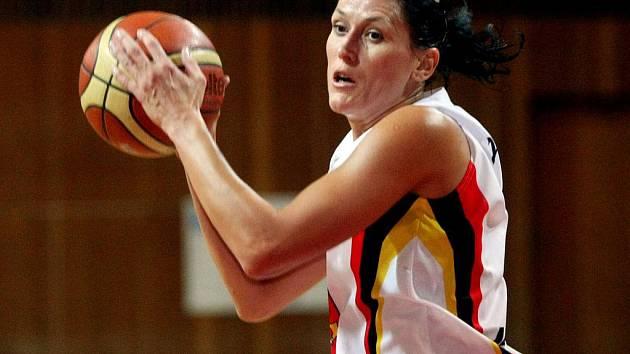 Basketbalistka Eva Němcová - Horáková