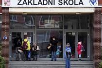 Stávka pedagogických pracovníků na školách v Hradci Králové.