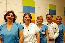 Odborní pracovníci paliativní onkologické péče Fakultní nemocnice Hradec Králové.