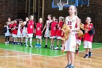 Basketbalistky Sokola Hradec Králové U11.