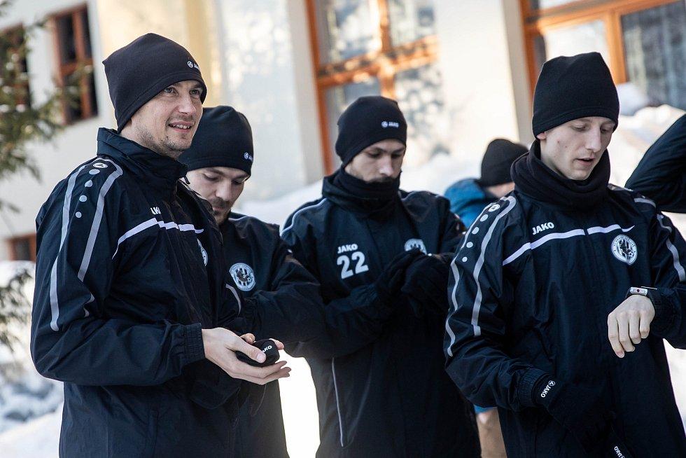 Soustředění fotbalistů FC Hradec Králové ve Špindlerově Mlýně.