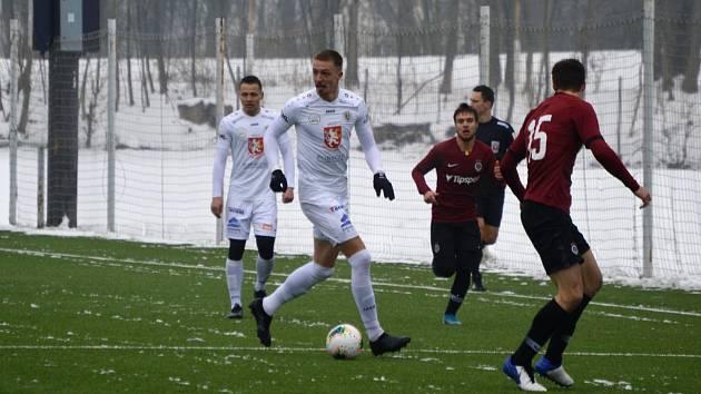 Hradecký útočník Daniel Vašulín dvěma brankami zařídil výhru nad Spartou B.