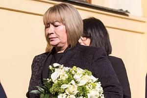 První dáma Ivana Zemanová v Hradci Králové.