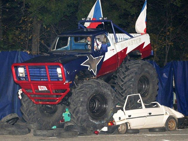 Monster Truck Show v Hradci Králové.