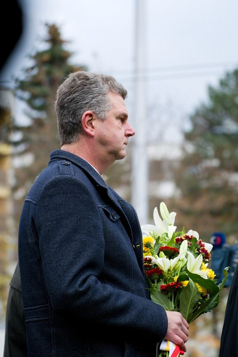 Hradeckou radnici reprezentoval náměstek primátora Jindřich Vedlich