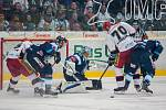 Generali play off hokejové Tipsport extraligy - 3. čtvrtfinále: Bílí Tygři Liberec - Mountfield HK.