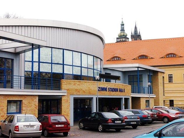 Cvičná hala zimního stadionu v Hradci Králové - ilustrační foto.