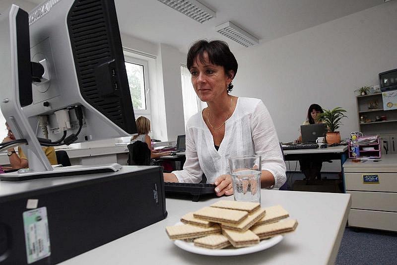 Eliška Finková, ředitelka Divadla Drak, při on-line rozhovoru 19. srpna 2010.