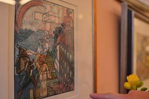 Galerie láká na Váchalovy grafiky.