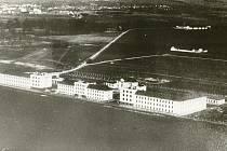 Hradecké letiště v roce 1930.