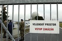 Páteřní radar protivzdušné obrany NATO v obci Nepolisy na Královehradecku