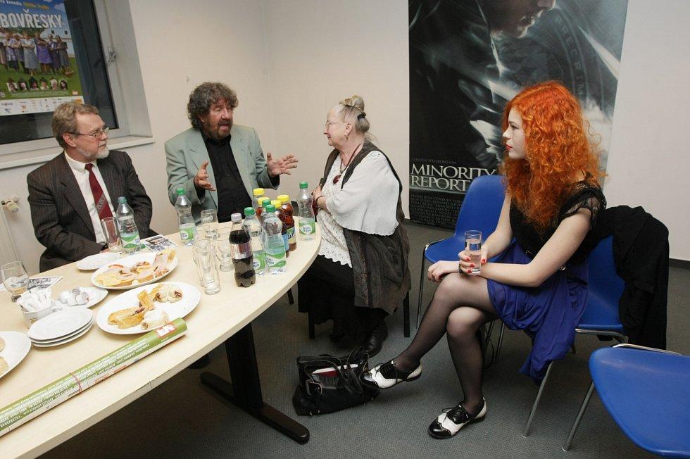 Předpremiéra komedie Zdeňka Trošky Babovřesky v hradeckém multikině Cinestar.