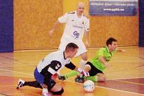 Chance futsal liga: Salamandr Hradec Králové - Balticflora Teplice.