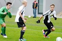 Fotbalisté FC Hradec Králové U16 v akci.