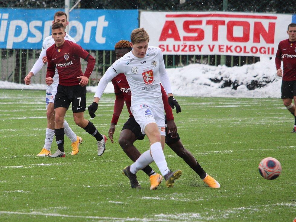Zimní fotbalová Tipsport liga: FC Hradec Králové - AC Sparta Praha B.