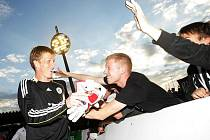 Zápas FC Hradec Králové - FC Bohemians 1905 (26. července 2010).