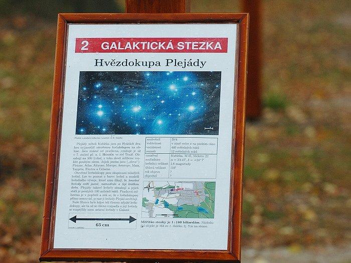 Hvězdárna, galaktická stezka
