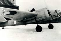 Bombardovací letoun B- 71 přezdívaný  Katuška nebo Anty.