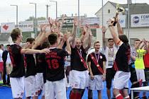 Central European Interleague - Final Four: mistři HC Slavia Hradec Králové.