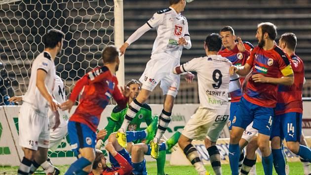 Fotbalová ePojisteni.cz liga: FC Hradec Králové - FC Viktoria Plzeň.