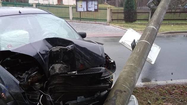 Nehoda v Bělči nad Orlicí