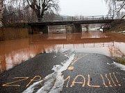 Povodňový stav Labe na Hradecku, čtvrtek dopoledne