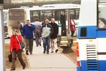 Provizorium autobusové dopravy v Hradci Králové