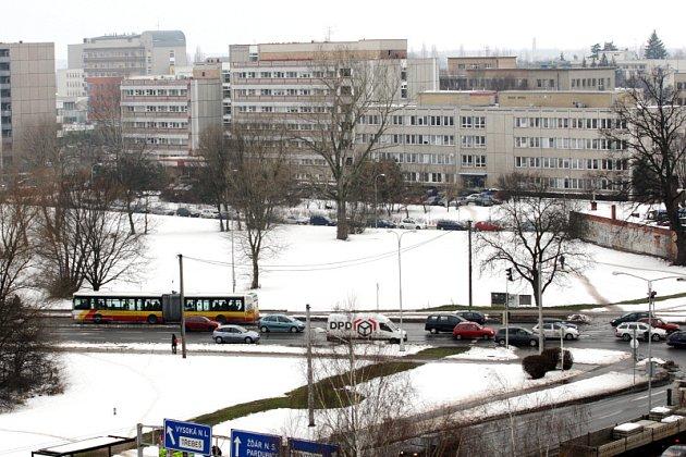 Místo, kde by mohl vzniknout nový univerzitní kampus