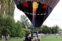 Let balónem. Ilustrační fotografie.