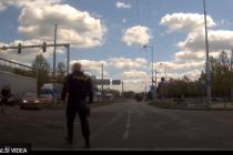 Zásah policie proti zdrogovanému řidiči