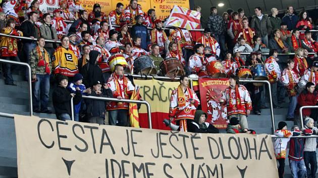 Hradec Králové : Třebíč, 2:3, první zápas play off