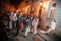 Zombiewalk v Hradci Králové.