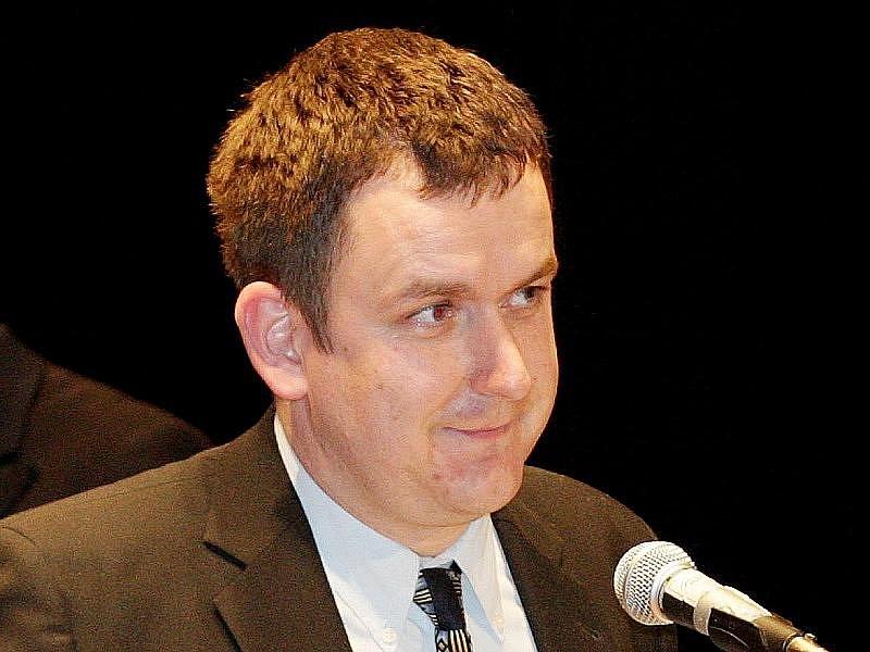 Leoš Kučera, ředitel kina Centrál.