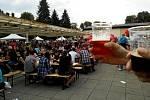 Pivní rozjímání v Hradci Králové.