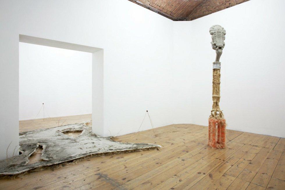 Ukázka umělecké tvorby Šimona Levitnera.