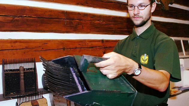 Tiskový mluvčí správy KRNAPu Radek Drahný