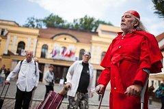 Festival Divadlo evropských regionů v Hradci Králové.