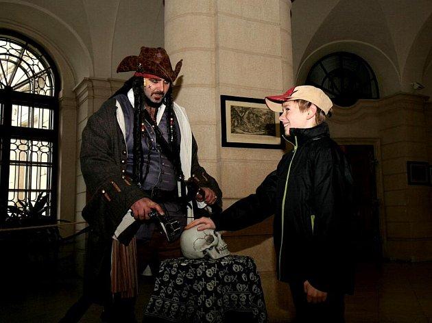 Halloween na zámku v Chlumci nad Cidlinou.