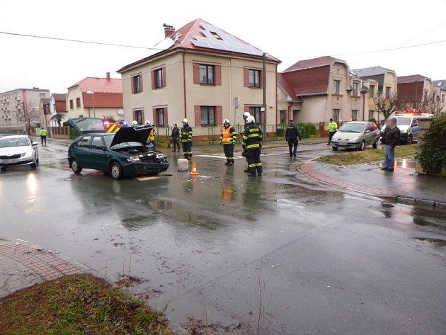 Dopravní nehoda vHradci Králové