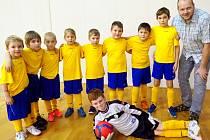 Roudnice - fotbalová mladší přípravka.