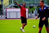 NÁVRAT DOMŮ. Bývalý obránce Adrian Rolko je zpátky v Hradci. Stal se asistentem trenéra Miroslava Koubka.