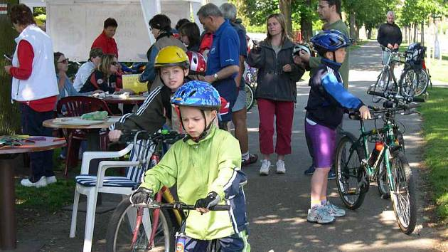 Cyklistická vyjížďka neměla věkové omezení