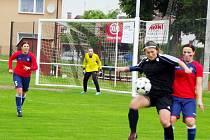 Fotbalová I. liga žen: FC Hradec Králové - FC Viktoria Plzeň.