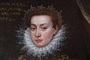 Zrestaurovaný obaz Marie Alžběty ze Schrattenbachu.