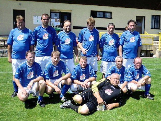 Vítězný tým Sokola Dohalice.
