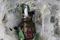 Ruční granát. Ilustrační foto